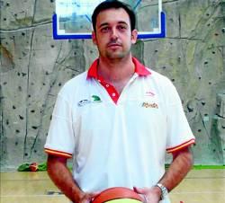 Panadero en su nueva faceta como entrenador de categorías inferiores